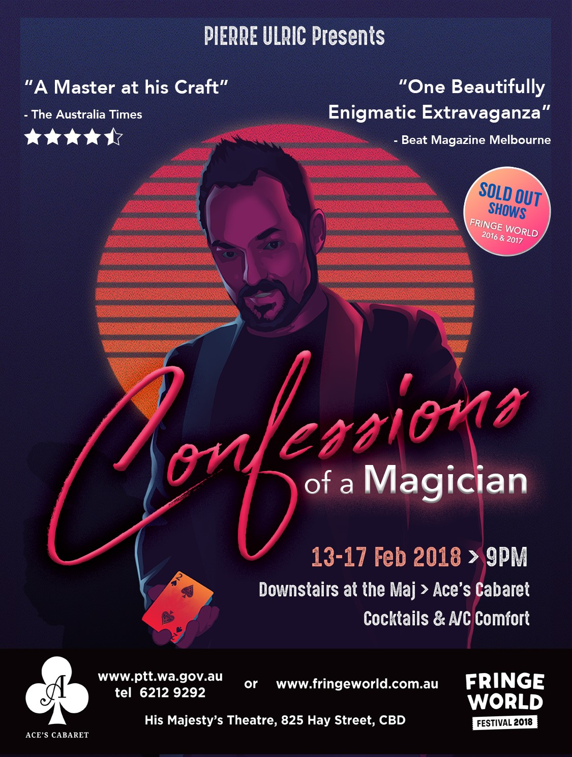Fringe World: Confessions of a Magician