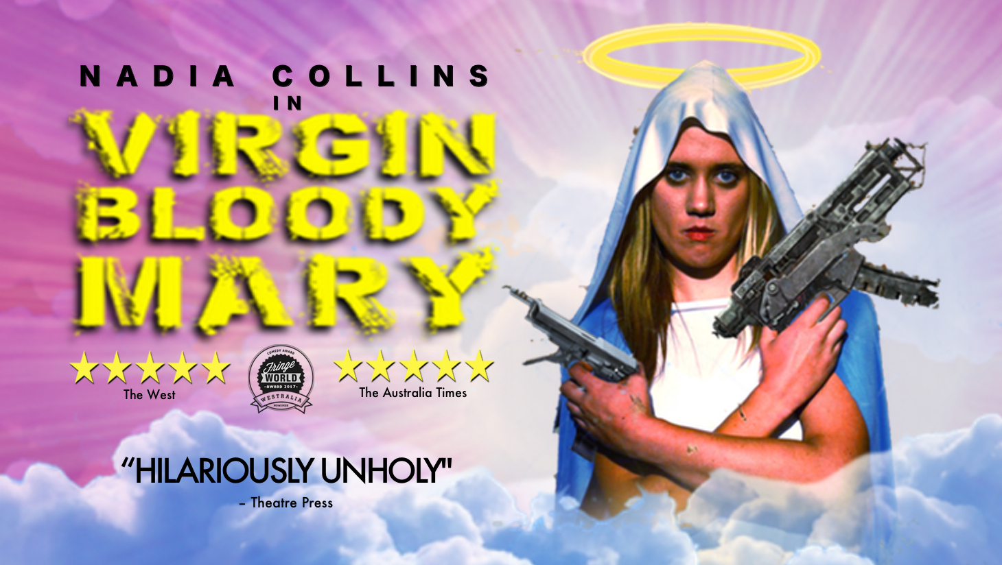 Fringe World: Nadia Collins in Virgin Bloody Mary at Perth Fringe World 2018