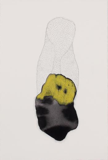 Lia McKnight, Follic #2, 2018, ink, graphite and pencil on paper, 28.5 x 19 cm