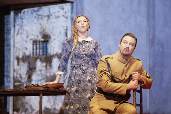 Emma Pearson as Michaela and Paul O'Neill as Don Jose