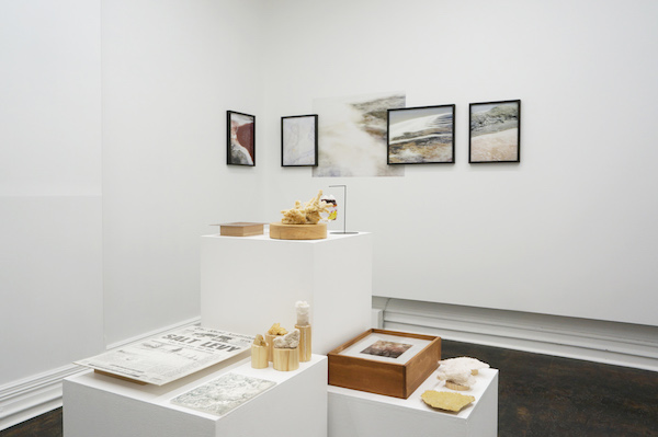 Rebecca McCauley & Aaron Claringbold, Speaking to the surface of a lake (exhibition view)