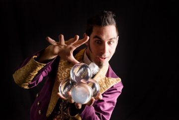 A man doing magic