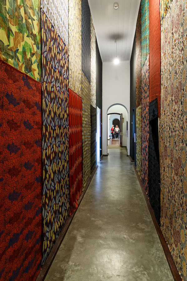 A corridor of works from Nagula Jarndu.