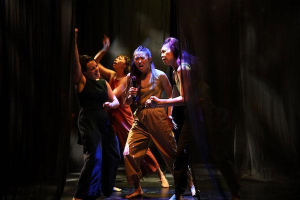 L-R: Laura Boynes, Yiching Liao, Yilin Kong & Hsiao-Tzu Tien. Photo: Emma Fishwick.