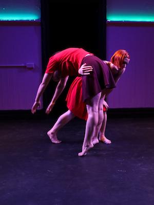 Bernadette Lewis and Laura Boynes. Photo: Emma Fishwick.