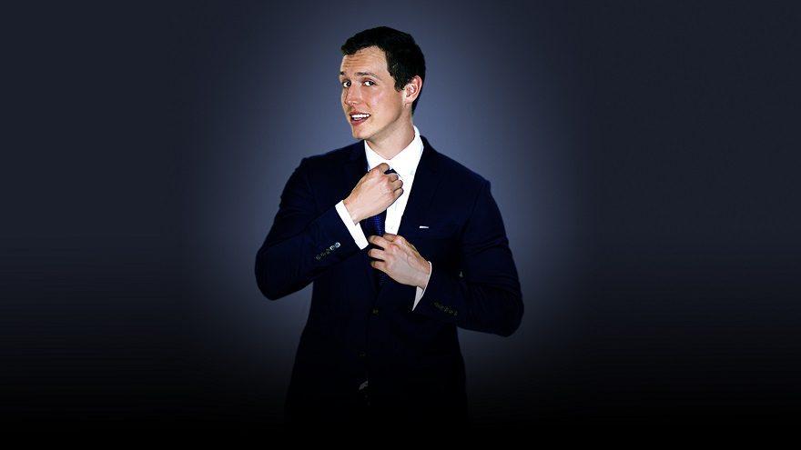 Man in dark suit